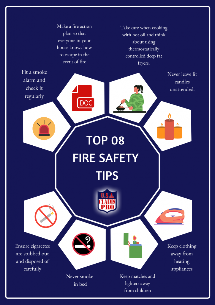 Top 8 Fire Safety Tips